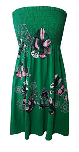 Beaulook - Canotta - Reggiseno a fascia -  donna Jade Green