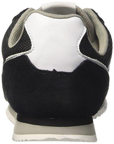 Timberland Retro Runner Oxblack Silk Suede, Oxford Femme Vert (Black Silk Suede)
