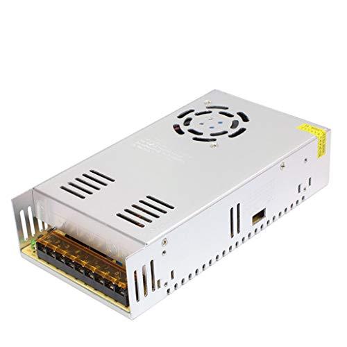HAILI ConvertidordeconmutaciónAC110V/220VaDC12V30A360WTransformadorAdaptadordelControladordeconmutaciónFuentedealimentaciónUniversalregulada