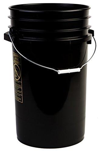 Hudson Exchange 7R-black 7 Gallon Bucket Eimer schwarz