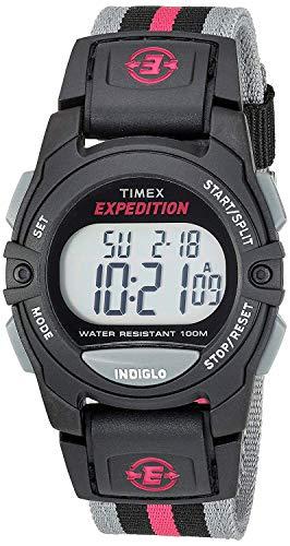 Timex Damen Digital Quarz Uhr mit Nylon Armband TW4B08000