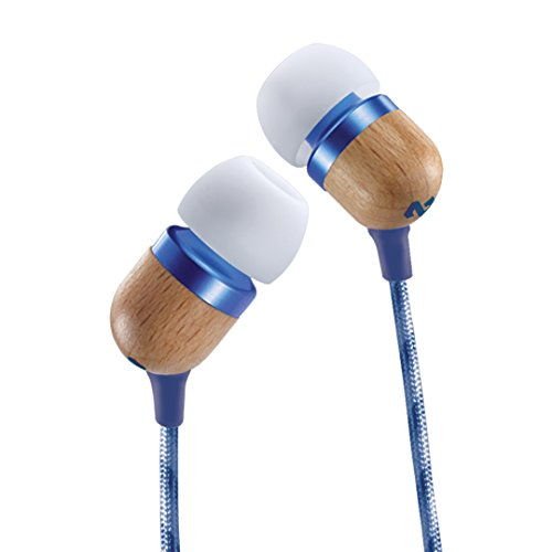 House of Marley Smile Jamaica EM-JE041-DN In-Ear Headphones (Blue) with Mic  available at amazon for Rs.1199