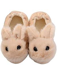 KVbaby Pantofole A Casa per Bambini Peluche Antiscivolo Scarpe Indoor delle Pantofole di Inverno dei Ragazzi delle Ragazze