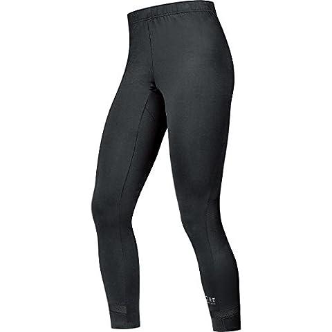 GORE RUNNING WEAR- Homme- Collant de course- jambe 7/8 confortable et respirant- GORE Selected Fabrics- AIR 7/8- Taille L- Noir-