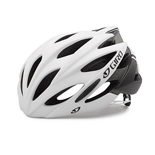 Giro Savant Rennrad Fahrrad Helm weiß/schwarz matt 2018: Größe: XL (61-65cm)