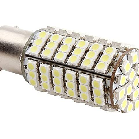 CHUNPIN 1156 4,2 W 126x3528 SMD 6500-7000K Bianco Blub luce a LED per le lampade per auto (12V DC)