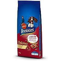 Brekkies Pienso para Perros Delicious con Buey - 12000 gr