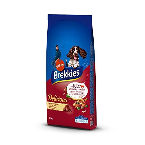 Brekkies Pienso Perros Delicious Buey - 12000 gr