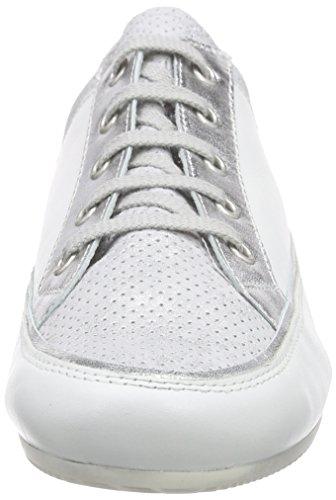 Semler Tonia, Baskets Basses Femme blanc (101 - weiss-silber)