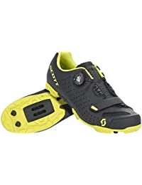 Scott MTB Comp Boa 2020 - Zapatillas de ciclismo, color negro y amarillo, Hombre, Color negro mate Sulphur amarillo., 43