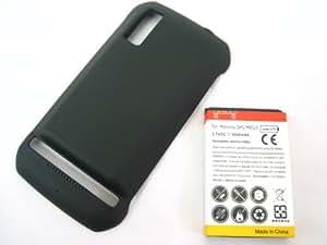 Motorola Photon 4G MB855 ~ Extended Capacity 3500mAh Li-Ion Akku Batterie Battery + Back Cover ~ Mobile Phone Repair Parts Replacement