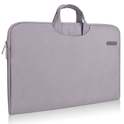 zikee-funda-para-porttil-116-pulgadas-con-asa-bolsillo-gris-estuche-protectora-compatible-con-acer-c