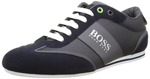 Boss Green Lighter_lowp_cvc 10197554 01, Sneakers Basses Homme Bleu (Dark Blue 401)