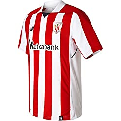 new balance Athletic Club Bilbao Camiseta, Hombre, Rojo Blanco, L