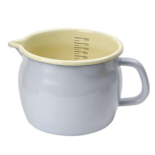 Sammlung Grill Pan (Dexam Messbecher - Schmelz - Taube - 1200Ml 10.5Cm X 13.5Cm - Am Kochfeld Verwenden)
