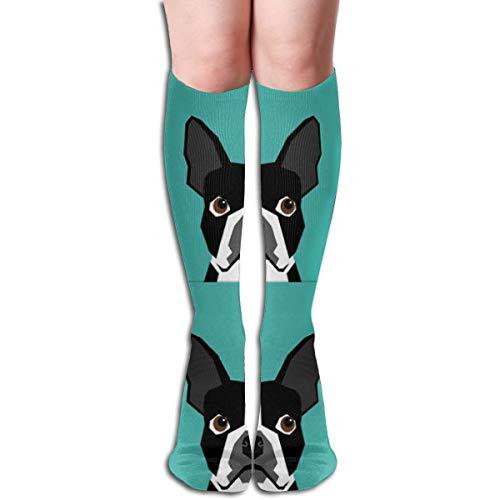 18 Terrier Hund Multifunktions Erwachsene Kniehohe Socke Gym Outdoor Socken 50cm 19.7inch -