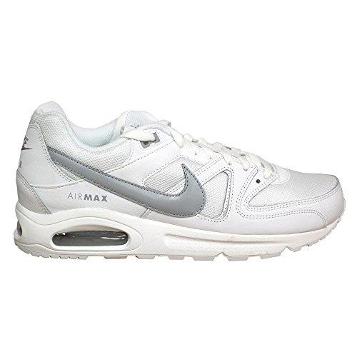 Nike  Air Max Command,  Herren Laufschuhe Weiß / Grau (Weiß / Wolf Grey-Weiß)