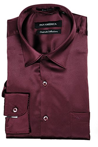Pan-America-Mens-Satin-Clubwear-Casual-Shirt