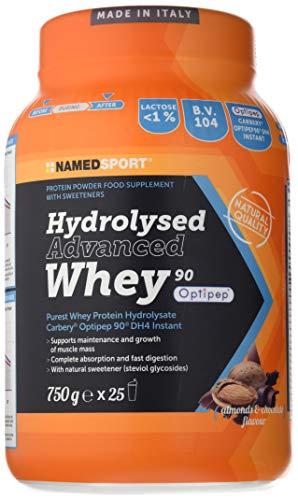 Named integratore, proteine, siero latte, choco - almond- 0.75 kg