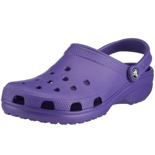 Crocs Classic, Zoccoli e Sabot Unisex Adulto, Viola (Ultraviolet), 37/38 EU