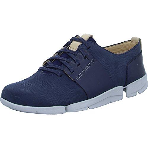 Clarks Damen Tri Caitlin Sneaker Blau