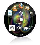 #7: Knoppix 8.1 32 Bit and 64 Bit Live Bootable Installation DVD