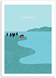 Art-poster Sverige Katinka Reinke