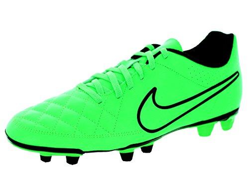 Nike Tiempo Rio II FG, Ciabatte da spiaggia uomo Green Strike/Black-Black