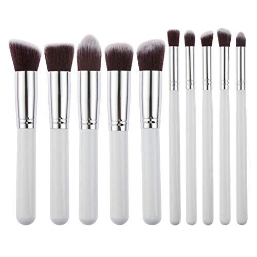 GODGETS 10 Pcs Pro Pinceles Maquillaje Set Eye Shadow