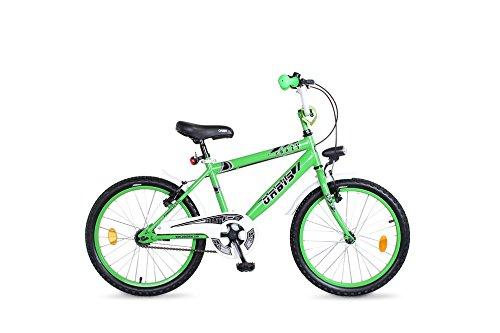 Orbis Bikes 20 Zoll BMX Kinder Fahrrad Rad KINDERFAHRRAD JUGENDFAHRRAD Kinderrad Crazy Classic GRÜN - Zoll 20 Bike Bmx