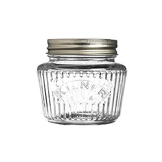 Kilner Vintage Preserve Jar 0.25ltr - Screw Top Glass Canning Jar for Storing Preserves and Jams
