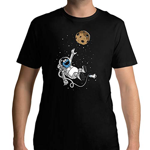 Camiseta Hombre Original Astro Monster Color Negro - Impresión de Alta Calidad T-Shirt Size L