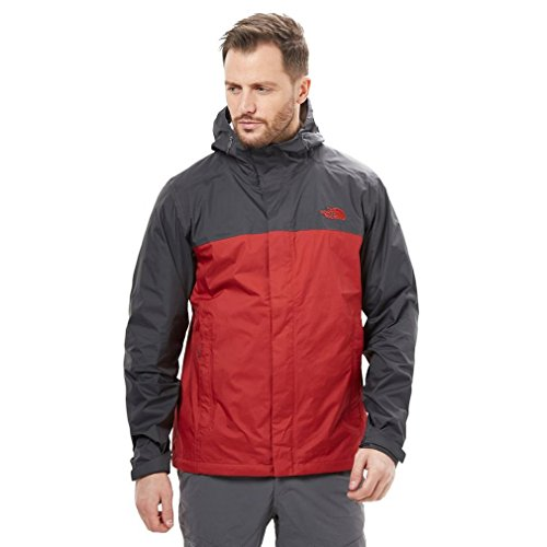 THE NORTH FACE Herren M Venture 2 Jacket, rot/grau (Cardinal red/Asphalt Grey), XXL North Face Venture Jacket