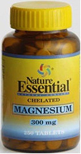 Magnesium Chélatés 300 Mg. 250 Tabletten - die Funktion des Nervensystems zu regulieren -