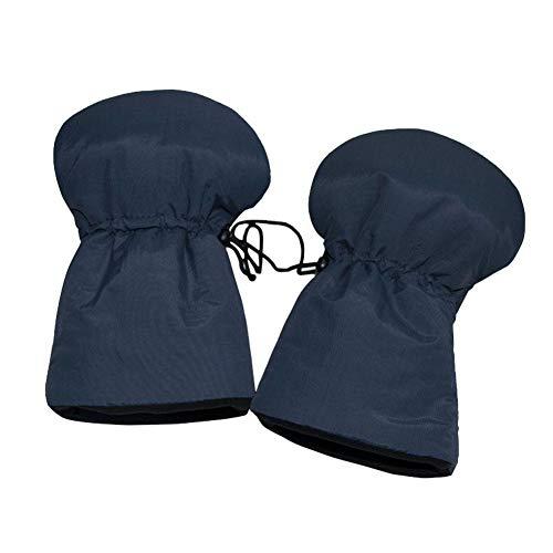 Beatie Stroller Gloves, Mittens Waterproof Gloves, Warm Winter Gloves and Windbreaker, Fleece Warm Baby Stroller Gloves with Elastic Buckle
