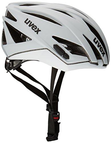 Uvex Ultrasonic Race - Casco de ciclismo WHITE MAT Talla:52-56cm