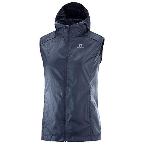 Salomon Agile Wind Vest W Chaleco Mujer Mujer Running