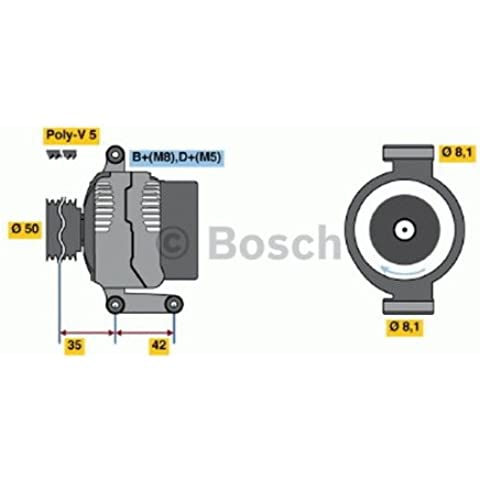 Bosch 0986041800 ALTERNATORE