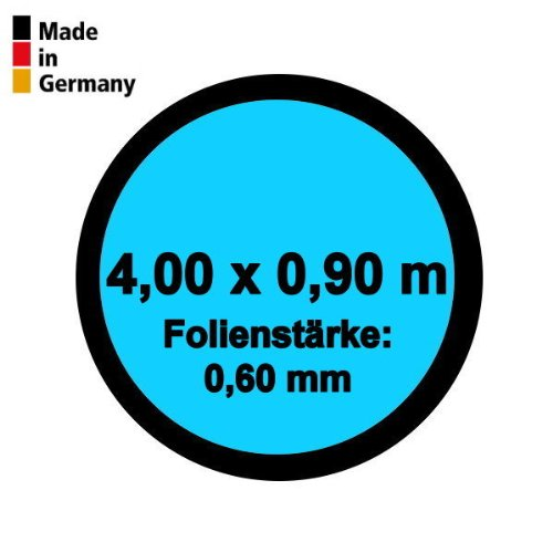 Pool Innenhülle Rund 4,00m x 0,90m Folienstärke 0,60mm