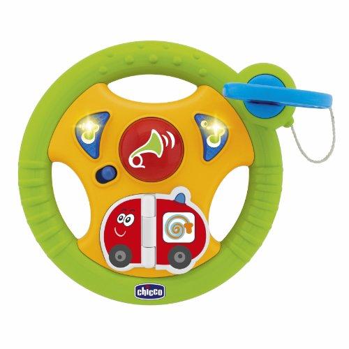 Chicco 0070285000000 - giocattolo prima infanzia, volante auto per bebé