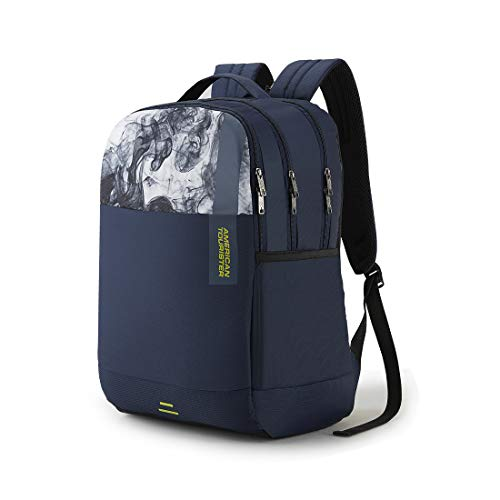 Best samsonite backpack in India 2020 American Tourister Spin 29 Ltrs Navy Laptop Backpack (FS0 (0) 41 002) Image 2