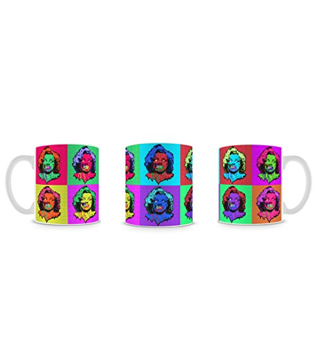 Pop Art Zombie Death Horror Design Multicoloured Style Tasse