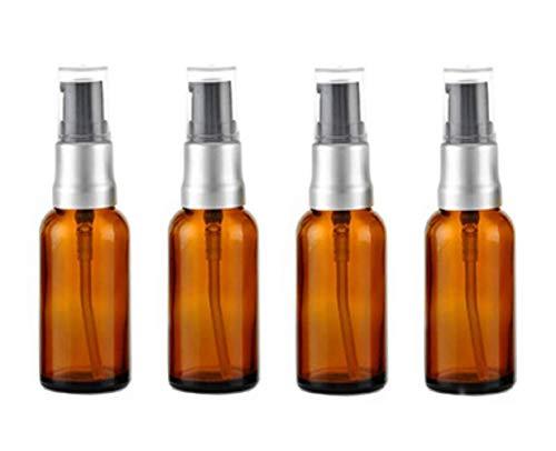 415ml (1/2oz) Leere Glasflaschen Bernstein Glas Lotion Pumpe Flasche Gläser Make-up Face Cream Gesichtsreinigung Toilettenartikel Toner Liquid Travel Container Emulsion ätherisches Öl Spender (15ml Glas-spray Flasche)