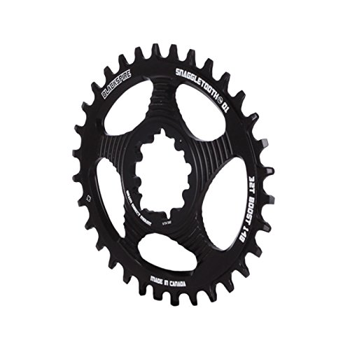 Blackspire Kettenblatt Snaggletooth Oval 32T Direct Mount SRAM GXP Boost (monocorone)/Chainring Snaggletooth Oval 32T Direct Mount SRAM Boost (narrow-wide)