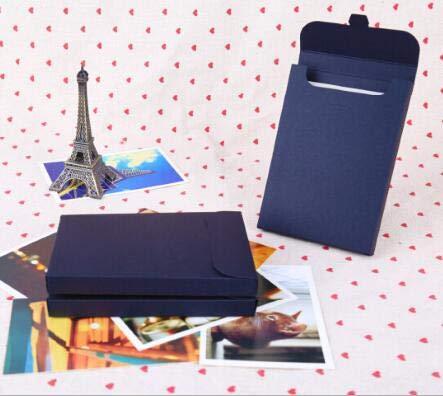 SMHILY 30 Teile/Satz Retro Stil Braun Kraftpapier Umschlag Postkarte Einladung Brief Schreibwaren Papiertüte Vintage Air Mail Geschenk Umschlag
