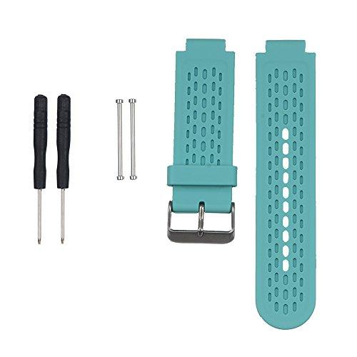 WEINISITE Uhrenarmbänder Armband für Garmin Approach S2/S4 GPS Golf-Uhr/Garmin vívoactive Uhr (Teal) (Teal Garmin-uhr)