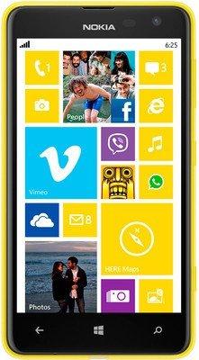 Preisvergleich Produktbild 'Nokia Lumia 625 Smartphone (4, 7 Zoll (11, 9 cm) Touch-Display,  8 GB Speicher,  Windows 8) gelb