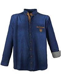Suchergebnis auf Amazon.de für  Jeanshemd Jeanshemd - 6XL   Herren ... e007eb06de