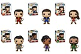 FunkoPOP Shazam: Shazam + Freddy + Marry + Eugene + Darla + Pedro - Vinyl Figure Bundle Set