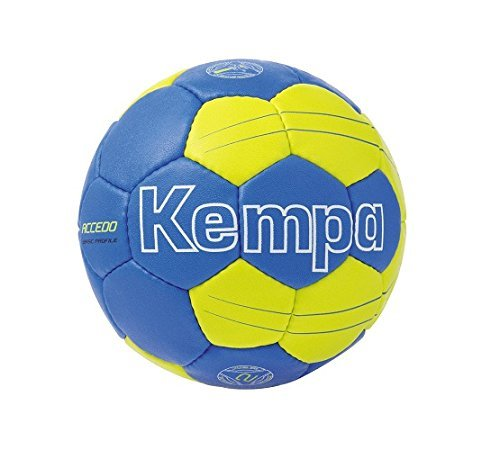 Kempa Ball Accedo Basic Profile Royal/Fluo Gelb Grösse 1